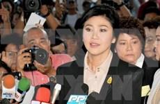 Ex primera ministra tailandesa se presenta ante Tribunal Supremo