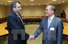 Líder parlamentario de Vietnam recibe a titular legislativo de China