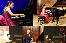 Nutrida participación en concurso internacional de piano Hanoi
