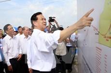 Arranca proyecto de suministro eléctrico en isla survietnamita