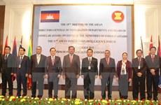 ASEAN debate cooperación en asuntos de inmigración