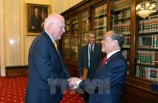 Dirigente parlamentario vietnamita concluye visita oficial a EE.UU.