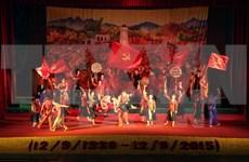 Rememoran momento histórico de movimiento Xo Viet Nghe Tinh
