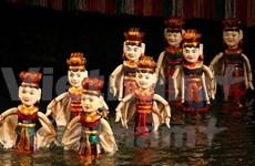 En Londres actuaciones de títeres acuáticos de Vietnam
