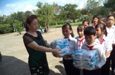 Asistencias sudcoreanas a estudiantes vietnamitas pobres