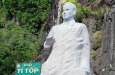 Inauguran monumento de Guerman Titov, gran amigo de Vietnam