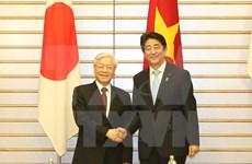 Líder partidista vietnamita concluye visita oficial en Japón