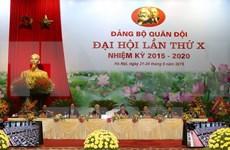 Inauguran asamblea partidista del Ejército vietnamita