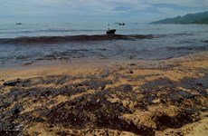 Realizan curso de respuesta a derrame petrolero en Quang Nam
