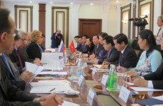 Dirigente parlamentaria realiza visita oficial a Rusia