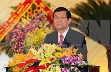 Presidente vietnamita asiste a la asamblea partidista de Thanh Hoa