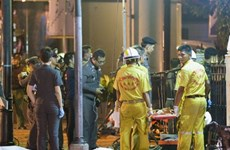 Más orden de búsqueda contra sospechosos del atentado de Bangkok