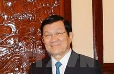 Presidente de Vietnam parte a Estados Unidos