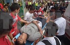 Indonesia: Colisión de dos trenes deja decenas de heridos