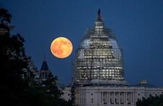 """Esta noche, la """"súper luna"""" coincidirá con la """"luna de sangre"""""""