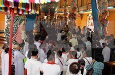 Celebra secta de Cao Dai rito dedicado a Gran Madre