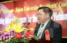 Abierta Conferencia de Rectores Universitarios Vietnam-Japón