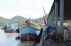 En servicio mayor puerto pesquero de Ba Ria-Vung Tau