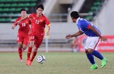 Buen inicio de Vietnam en Torneo asiático de fútbol sub-19