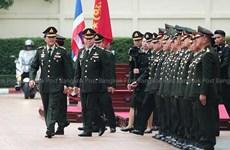 Comandante de Infantería reitera apoyo al gobierno militar tailandés