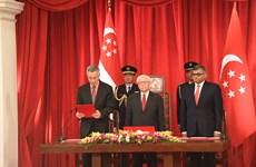 Juramentado nuevo gabinete de Singapur