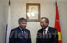 Vietnam desea intensificar cooperación judicial con Rusia