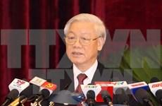 Clausuran pleno del Comité Central del Partido Comunista de Vietnam