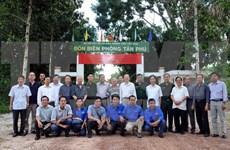 VNA rinde homenaje a sus mártires en Tay Ninh