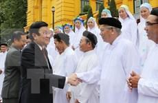 Presidente destaca aportes de Caodaismo a desarrollo nacional