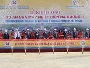 Inician construcción de termoeléctrica Na Duong II en Lang Son
