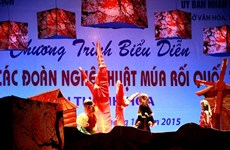 Espectáculos de marionetas, rasgo representativo de Vietnam