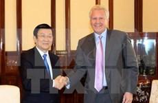 Presidente se reúne con líder de grupo estadounidense GE