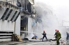 Inauguran en Vietnam centro nacional contra incendios y rescate
