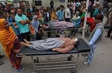 (Galería) Rostros temerosos en terremoto que sacude el Sur de Asia