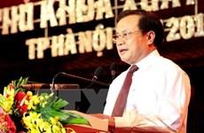 Comité partidista de Hanoi define orientaciones para próximo mandato