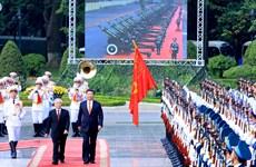 Máximo dirigente chino recibido por secretario general de PCV