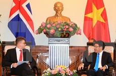 Vietnam e Islandia acuerdan concretar actividades de cooperación