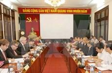 Nguyen Phu Trong y Xi Jinping sostienen conversaciones