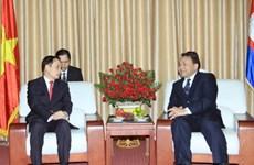 Cancillería vietnamita felicita a Cambodia por Día Nacional