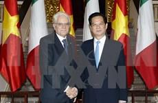 Premier vietnamita resalta acuerdos de cooperación con Italia