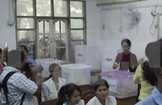 Publican resultados preliminares de elecciones birmanas