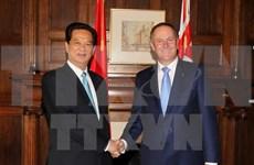 Visita de John Key, un impulso para asociación integral Vietnam – Nueva Zelanda