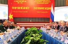 Vietnam y Rusia potencian cooperación en desarrollo de técnica militar