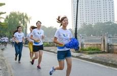 Carrera caritativa a favor de niños con cáncer y cardiopatía