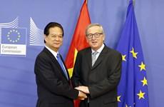 Primer ministro vietnamita se reúne con presidente de la Comisión Europea
