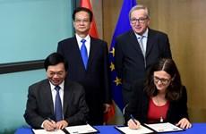 Vietnam y UE concluyen negociaciones de Tratado de Libre Comercio