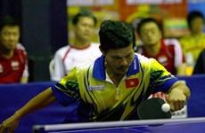 En Vietnam torneo regional de tenis de mesa para veteranos