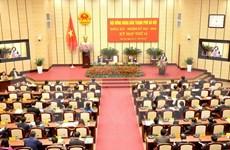 Clausuran período de sesiones del Consejo Popular de Hanoi