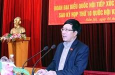 Mantiene viceprimer ministro vietnamita contactos con votantes en Quang Ninh