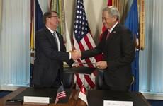 Singapur y Estados Unidos firman acuerdo de cooperación en defensa